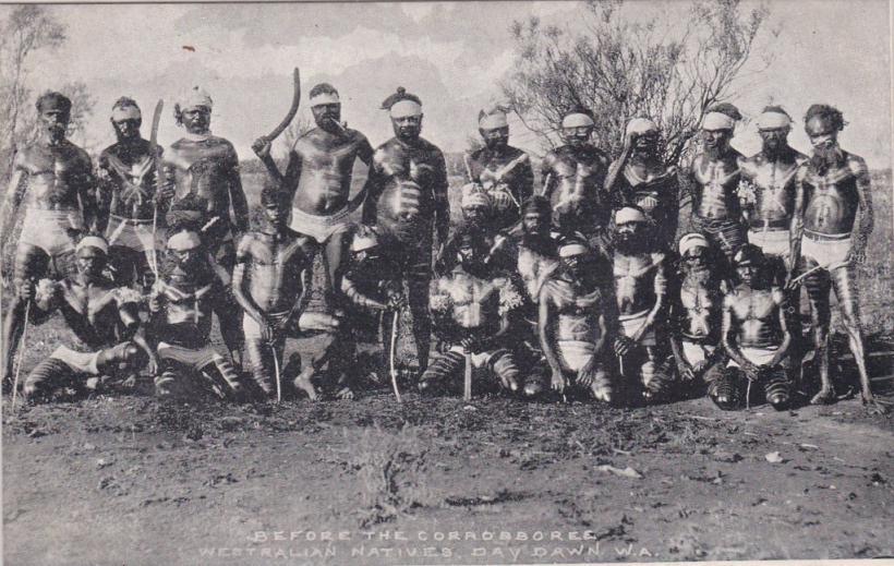 australische ureinwohner aborigines 1900
