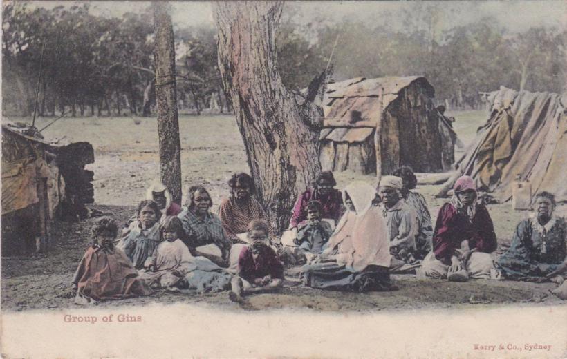 Aborigines nach kolonialisierung