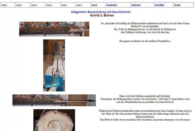 selbstbau anleitung didgeridoo johannes